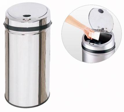 سطل زباله استیل 30 لیتری هوشمند