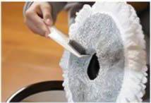 پاک کردن ماپ تی چرخان