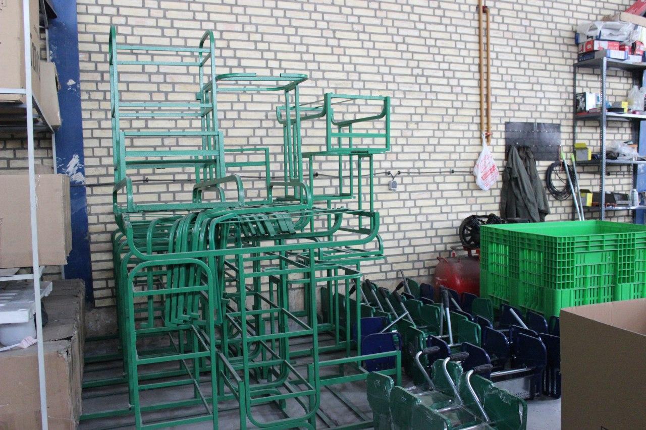 تولید ترالی نظافتی