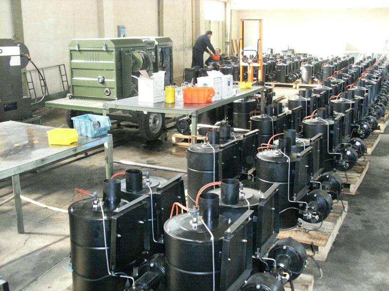 تولید کارواش آب گرم
