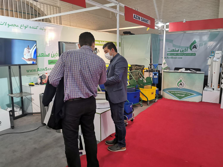 معرفی دستگاه های نظافت در نمایشگاه بین المللی