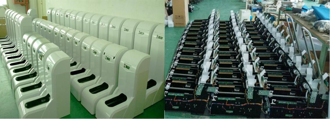 تولید دستگاه های کاور کفش هوشمند برقی