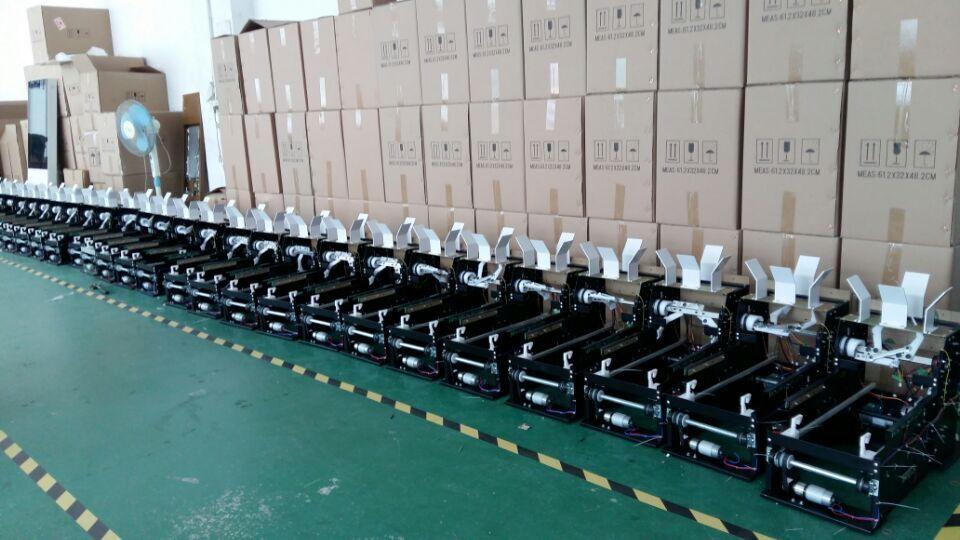 خط تولید دستگاه های کاور کفش اتوماتیک