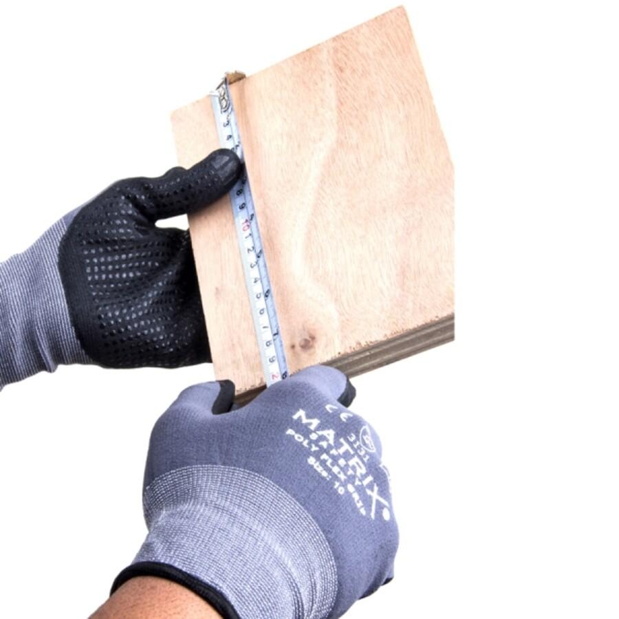 دستکش ایمنی ماتریکس مدل POLY FLEX GRIP