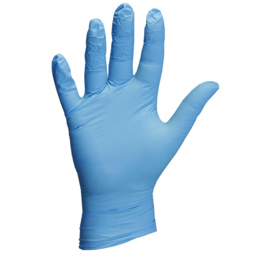 دستکش نیتریل مدل Blue Nitrile