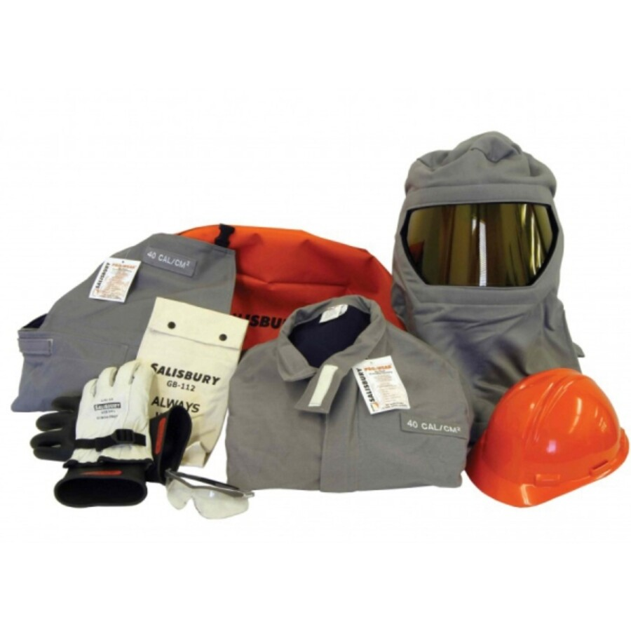لباس محافظ قوس الکتریکی ARC FLASH KIT