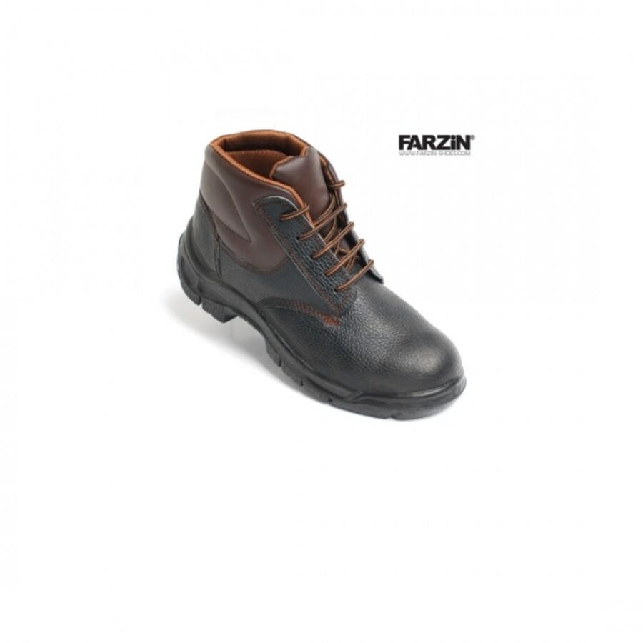 کفش ایمنی عایق برق فرزین مدل کاوه ساق بلند