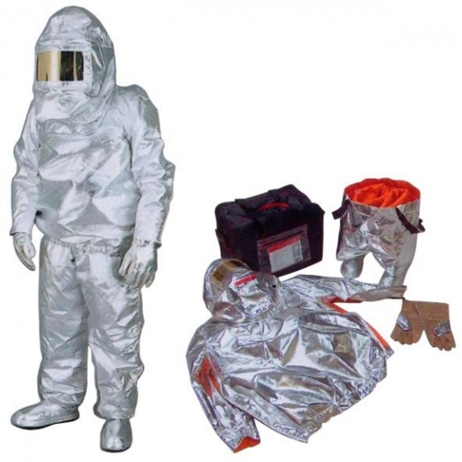 لباس آلمنیومی و عایق حرارت Iso temp