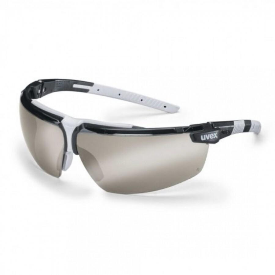 عینک ایمنی یووکس مدل I-3 دودی