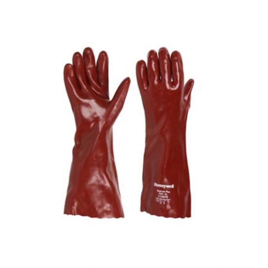 دستکش ایمنی ضد اسید هانیول مدل Red cote