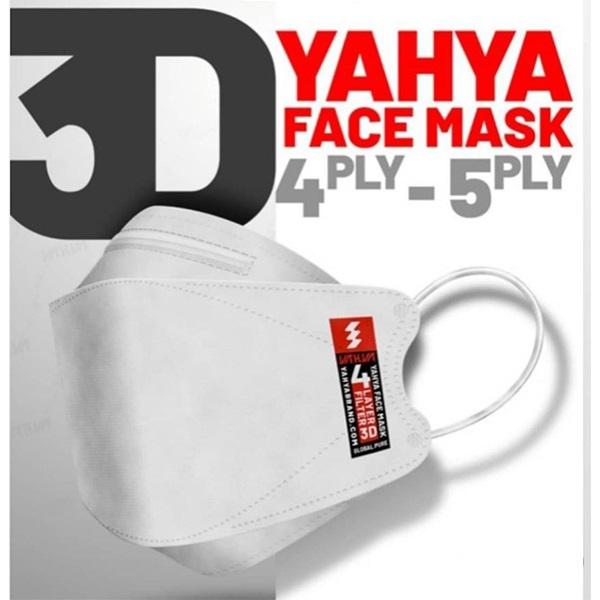 ماسک سه بعدی (3D) یحیی