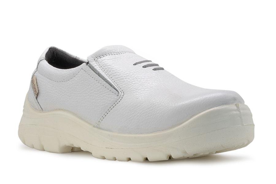 کفش ایمنی ارک مدل اپنکا کشی سفید
