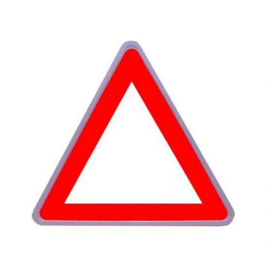تابلو ایمنی فریم دار گالوانیزه مثلثی