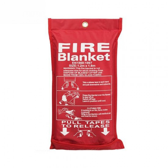 پتو ضد حریق FIRE BLANKET سایز 180*120