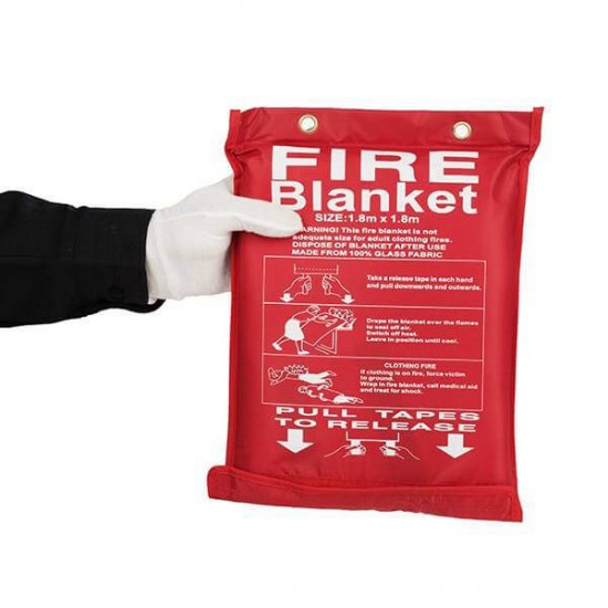 پتو ضد حریق FIRE BLANKET سایز 180*180