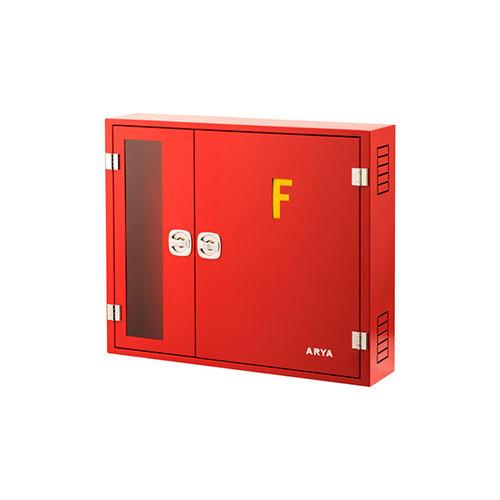 جعبه آتش نشانی دوکابین (سمت کپسول بدون طلق)
