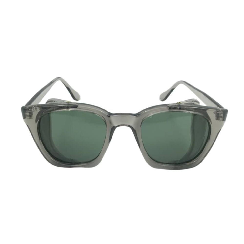 عینک ایمنی پارس اپتیک مدل بغل توری سبز