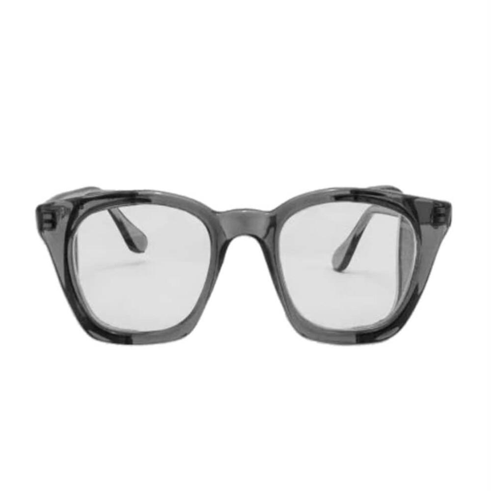 عینک ایمنی پارس اپتیک مدل بغل توری شفاف