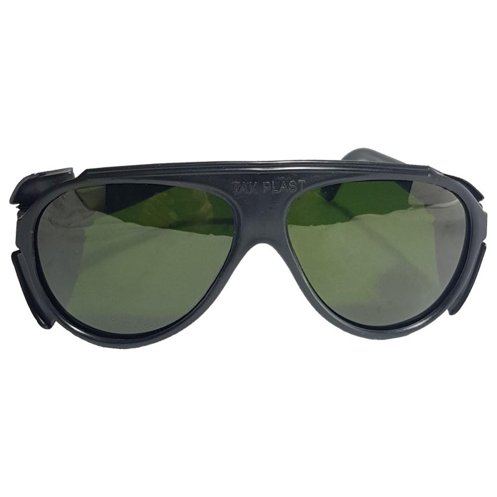 عینک ایمنی تک پلاست مدل 110 دودی