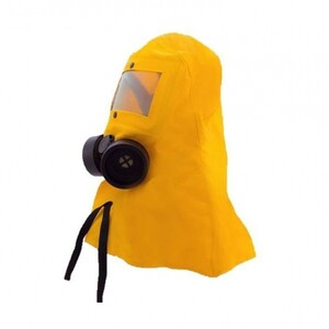 سرپوش ضد بخارات شیمیایی مجهز به ماسک شیمیایی فیلتردار بلو ایگل مدل NP312