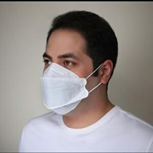 ماسک تنفسی فست 3بعدی قایقی طرح 3M مدل 9322