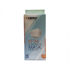 ماسک سه بعدی هیرو بسته 20 عددی