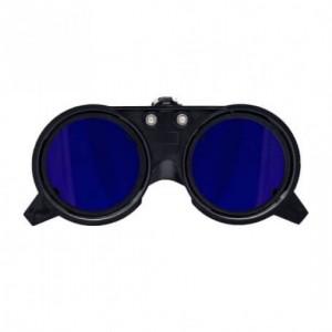 محافظ چشم آبی رنگ برای لبه کلاه ایمنی بلو ایگل مدل SE1161