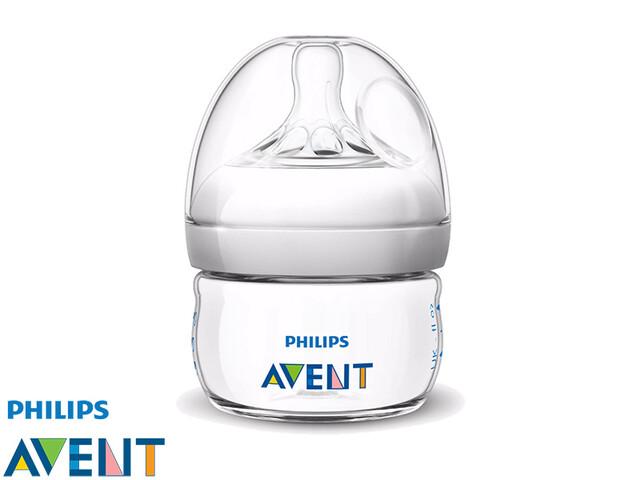 شیشه شیر طبیعی 60ml فیلیپس اونت