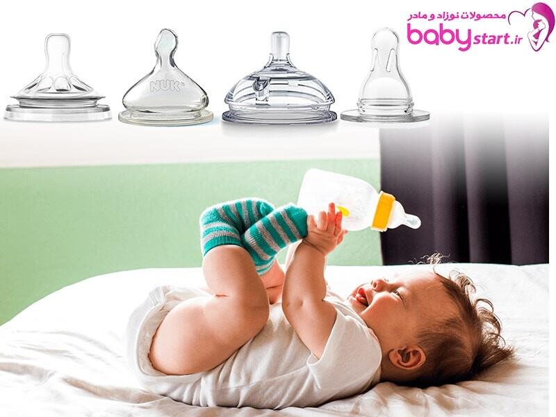 راهنمای انتخاب و خرید سرشیشه شیر مناسب برای سنین مختلف نوزاد