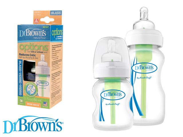 شیشه شیر شیشه ای آمریکایی DrBrowns