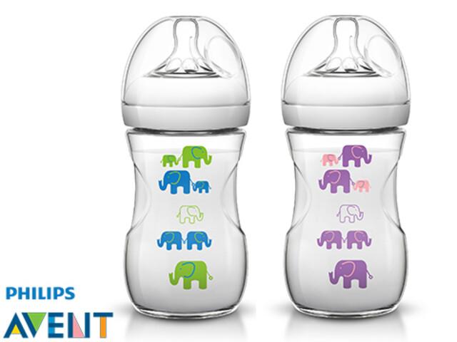 شیشه شیر نچرال طرح فیلی اونت