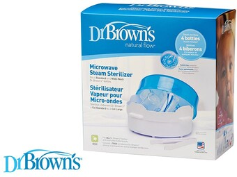 محفظه استریل با بخار مخصوص مایکروویو Dr.brown's