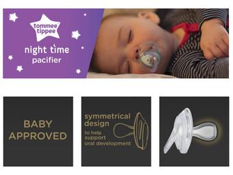 پستانک برای نوزاد