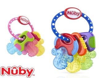 دندان گیر مدل دسته کلیدی ژله ای Nuby