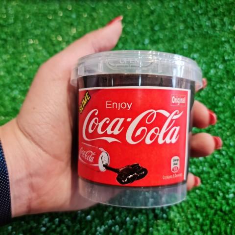 اسلایم کره ای پفکی کوکا کولا