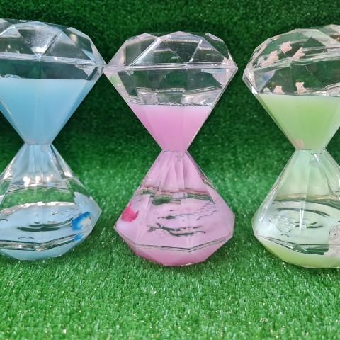 ساعت روغنی الماسی