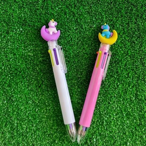 خودکار ۶ رنگ یونیکورن