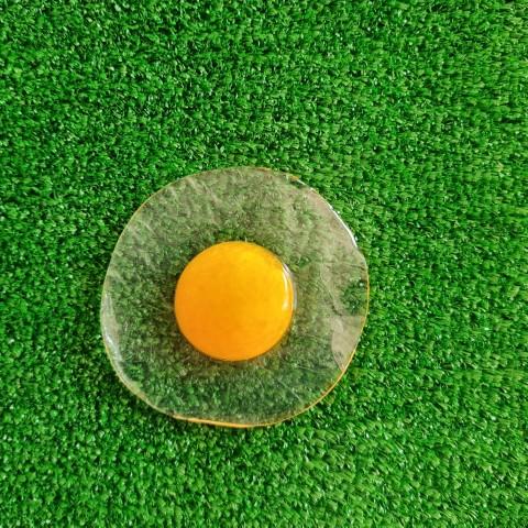 نرمالو تخم مرغ شفاف