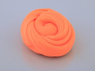 اسلایم کره ای پفکی نارنجی