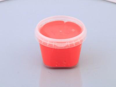 اسلایم کره ای پفکی قرمز