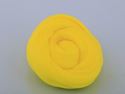 اسلایم کره ای پفکی 600 گرمی و یک کیلویی زرد