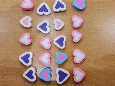 جینگیلی قلب رنگی یک عددی