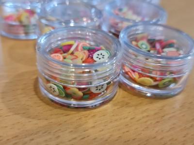 جینگیلی میوه ظرف گرد یک عددی
