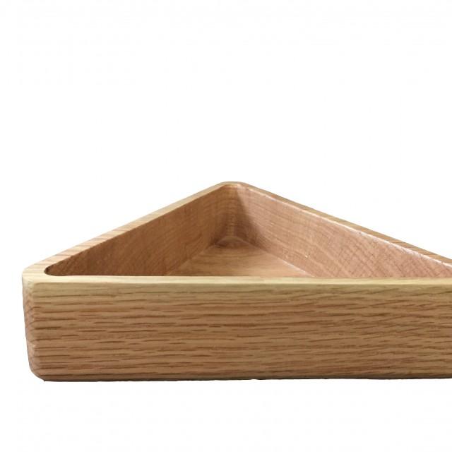 کاسه تمام چوب مثلثی_A کد141101