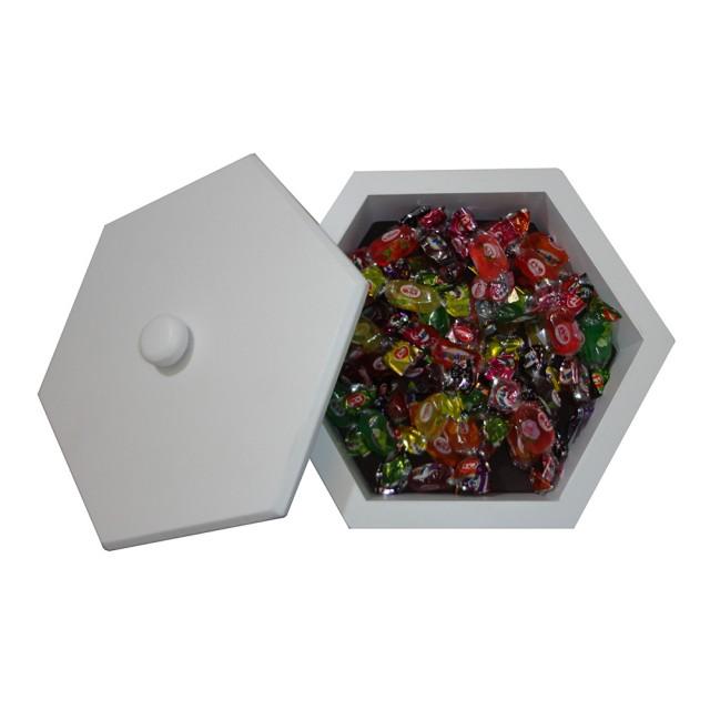 جعبه پذیرایی 6 ضلعی کد 1207