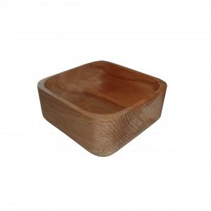 کاسه تمام چوب مربع  _E کد 161105