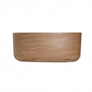 کاسه تمام چوب مربع _G کد 161107