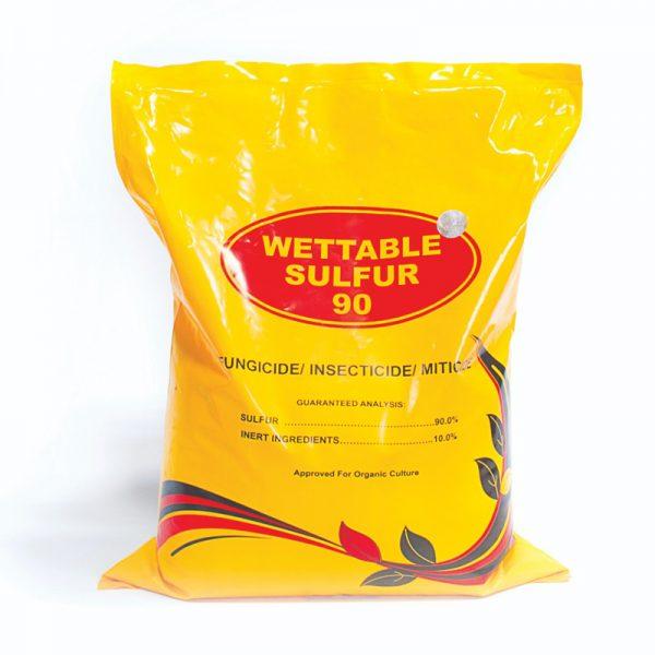 سولفور (گوگرد) وتابل  wettable sulfur
