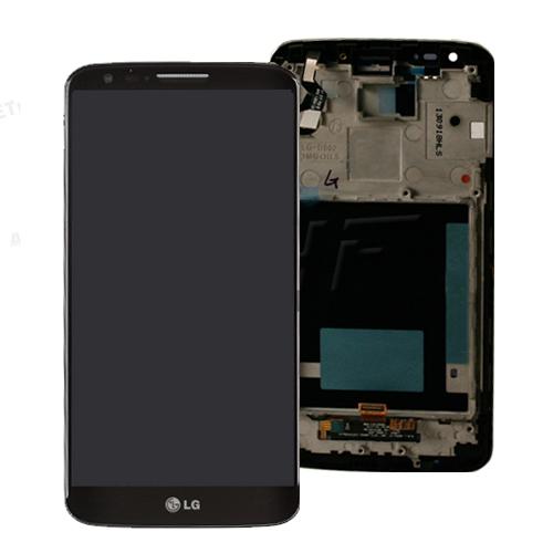 ال سی دی گوشی ال جی جی فلکس2 با فرم LCD LG G Flex 2 H955 with frame