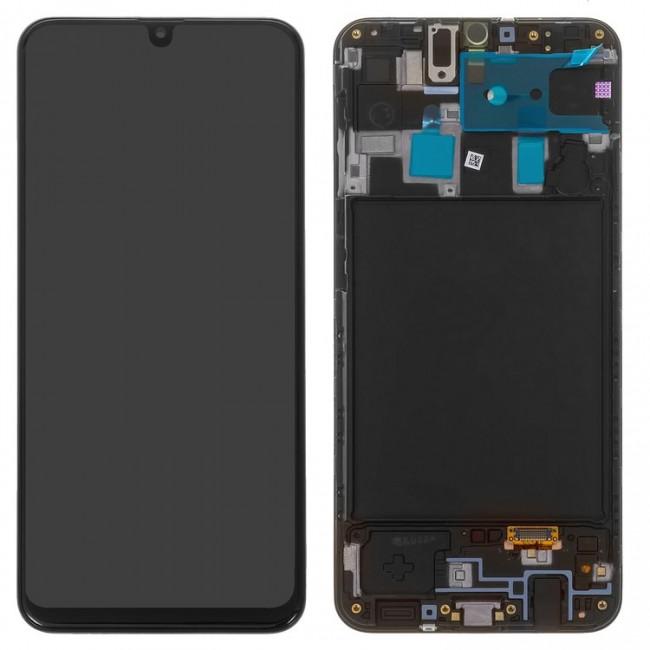 تاچ  و ال سی دی شرکتی با فریم گوشی سامسونگ آ20  LCD SAMSUNG A20 a205